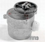 Електродвигун з шківом