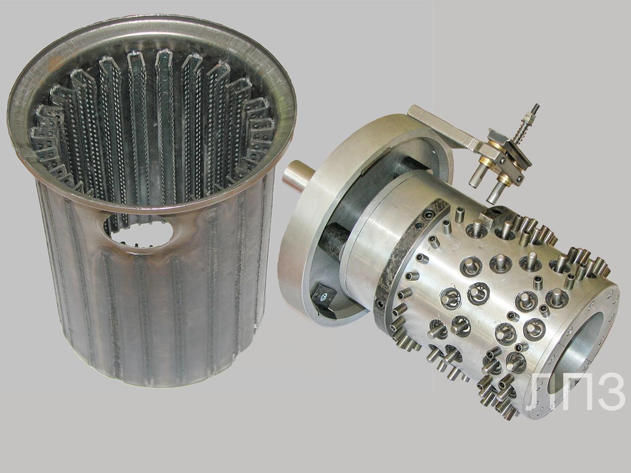 Приспособления для сварки корпуса теплообменника